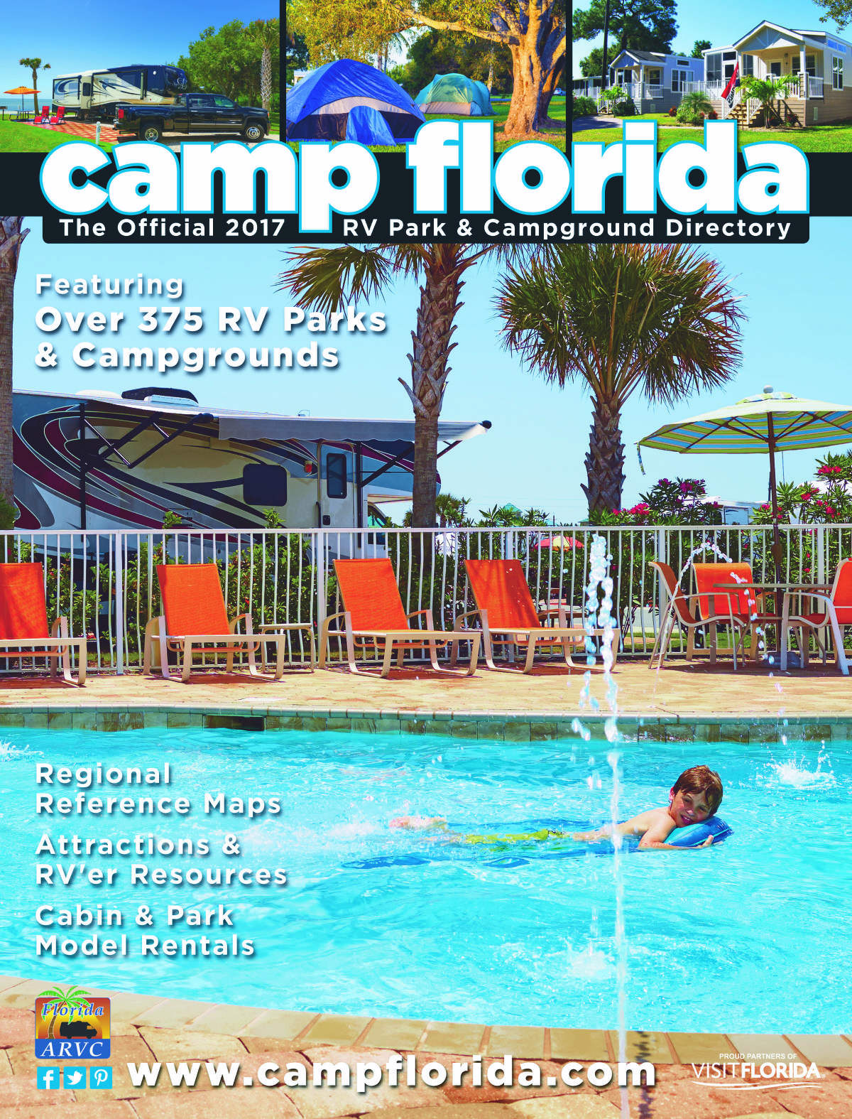 2017 Camp Florida Directory Cover