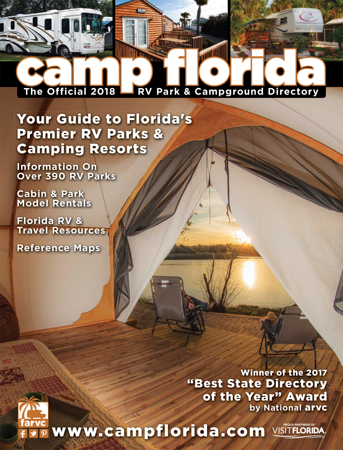 florida campsites with full hookups