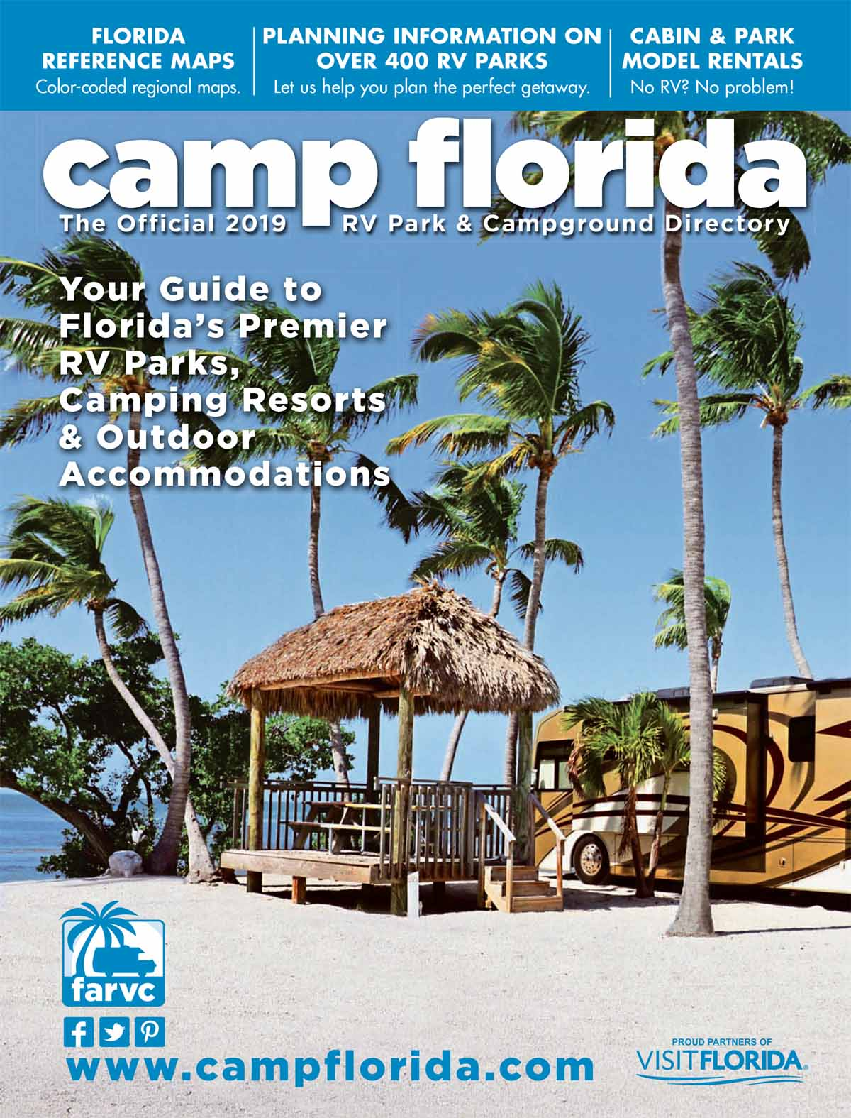 2019 Camp Florida Directory Cover